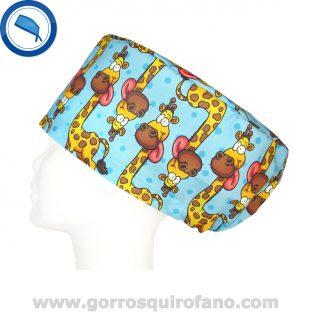 Gorros Quirofano Jirafas Divertidas Lengua - 333