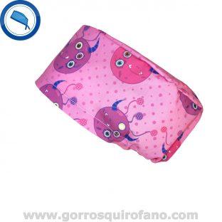 Gorros Quirofano Monstruos Ojos Fuxia - 330