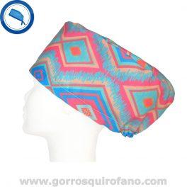 Gorros Quirofano abstractos mujer - 321