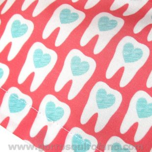 Gorros cirugia dental clinicas muelas corazon - 325b