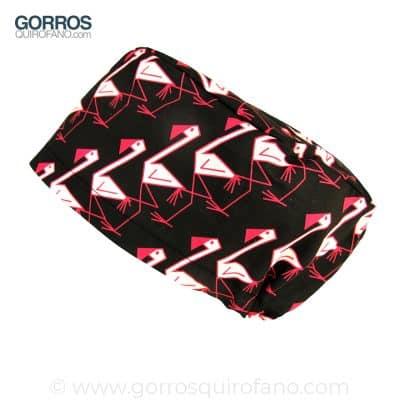 Gorros quirofano divertidos flamencos - 329