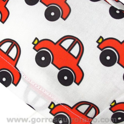 Gorros quirofano infantiles mujer coche - 319b
