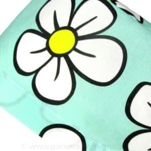 Gorros Cirugia Divertidos Tela Mujer Flores - 338b