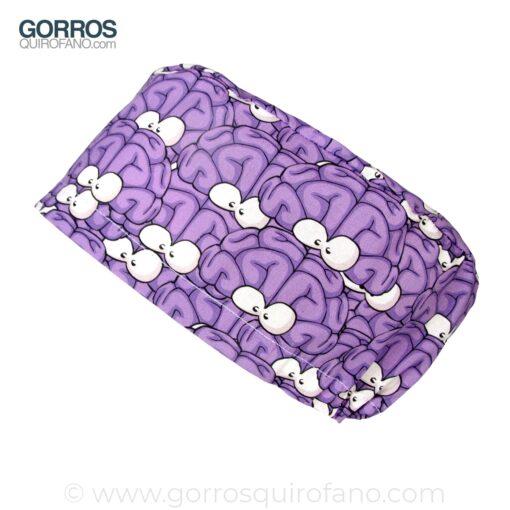 Gorros Quirofano Cerebros Morados - 336