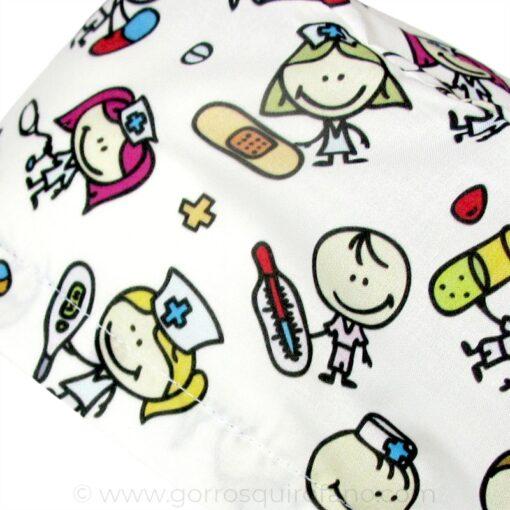 Gorros Cirugia Niños Medicos y Enfermeras - 340a