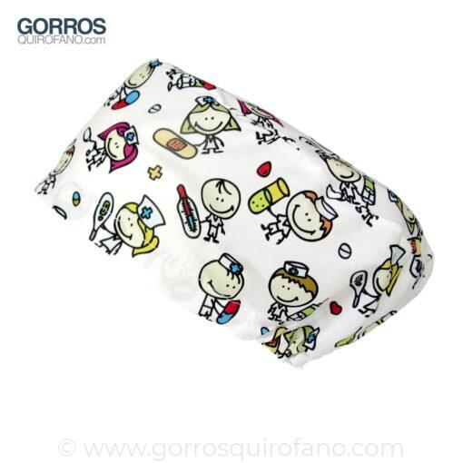 Gorros Quirofano Niños Sanitarios - 340