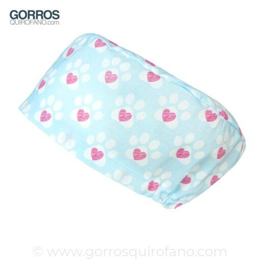 Gorros Veterinarias Huellas Corazon - 347