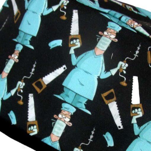 Gorros de quirofano de tela divertidos - 813a