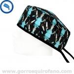 Gorros quirofano divertidos serrucho - 813