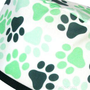 Gorros veterinarios verdes de tela - 810a