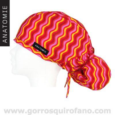 Gorros Quirofano ANATOMIE ANA1057 Fiesta Swing Swirl