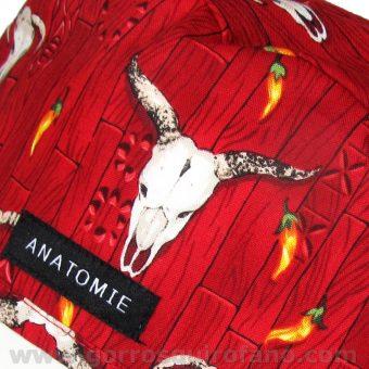 Gorros Quirofano ANATOMIE Western Rojo ANA046 b