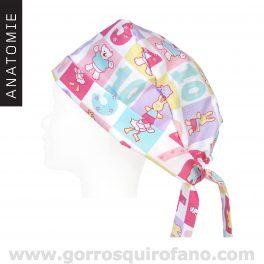 Gorros quirofano ANATOMIE 025 Superlazo Pediatras