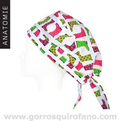Gorros quirofano ANATOMIE Superlazo 028 Botas Colores