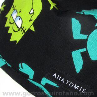 Gorros Quirofano ANATOMIE Monstruos divertidos ANA049 b