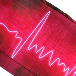 Gorros Cirugía Mujer Tela Electrocardiograma - 354