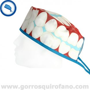 Gorro Dental Boca, Dientes y Muelas - 825