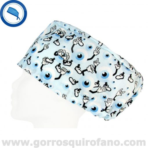 Gorros Para Quirofano Ojos Oftalmologia - 356