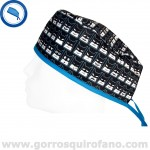 Gorros Quirofano Superheroes Caras Divertidas - 834