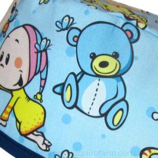 Gorros Cirugia Pediátrica quirofano Bebes Osos Chupete - 837