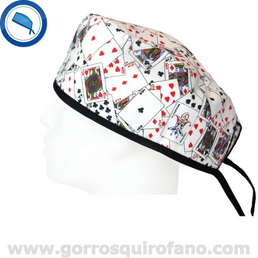 Gorros Quirofano Cartas Poker Blackjack - 839