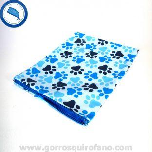 Bolsas Quirofano Veterinarios Huellas Azules - BOLSA004