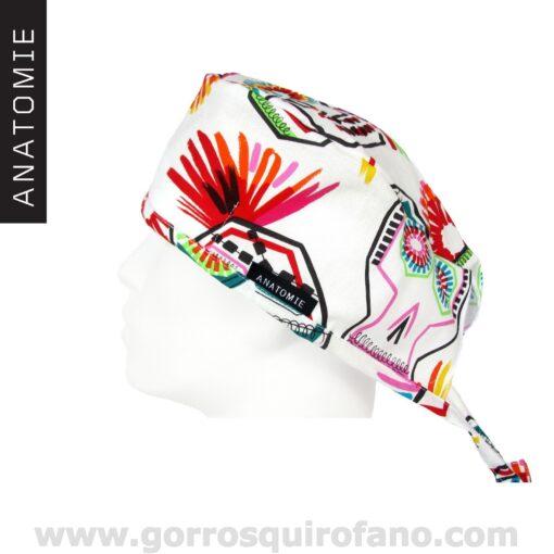 Gorros Quirofano ANATOMIE Calaveras Dia de los Muertos colores - ANA061