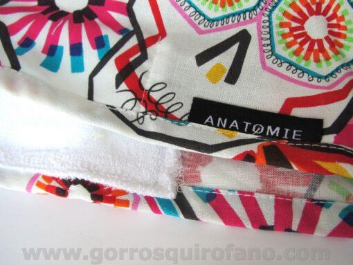 Gorros de Quirofano Hombre ANATOMIE Calaveras Dia de los Muertos colores - ANA061