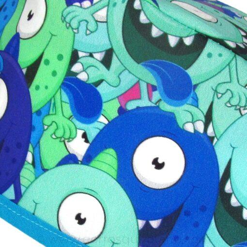 Gorros Oftalmologos Monstruos Azules Ojos Saltones - 843a