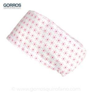 Gorros Quirofano Flores Rosas 371