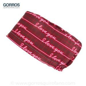 Gorros Quirofano I Love You Electro - 372