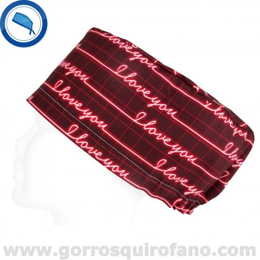 Gorros Quirofano I Love You Electro - 372