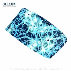 Gorros Quirofano Neuronas Dendritas Núcleos Azul - 374