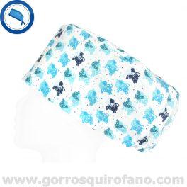 Gorros Quirofano Ovejas Azules Pop - 375