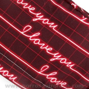Gorros Quirofano divertidos I Love You Electro - 372b