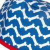 Gorros Veterinarios Azules Huesos Chevron - 841a
