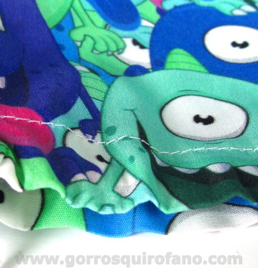 Gorros Oftalmólogas Mujer Monstruos Azules Ojos Saltones - 377c