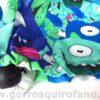 Gorros Quirofano Mujer Monstruos Azules Ojos Saltones - 377a