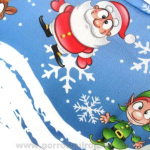 Gorros Quirofano mujer Navidad Papa Noel Santa Claus - 383