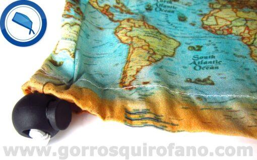 Gorros Quirofano Muejr de viaje Mapa Mundi - 381a