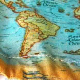 Gorros cirugia I Love to Travel Mapa Mundi - 381c