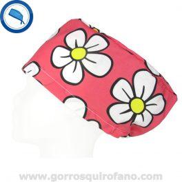 Gorros quirofano 389 Flores Coral
