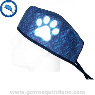 gorros quirofano 859 huella neon