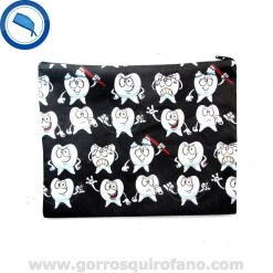 Bolsa de dentistas muelas fondo negro - BOLSA013