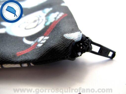 Bolsa de dentistas muelas fondo negro - BOLSA013a