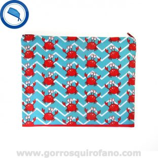 Bolsa de quirófano cangrejos playa chevron - BOLSA010