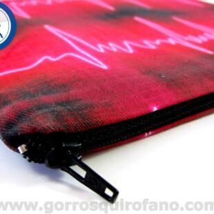 Bolsas de quirófano Electrocardiograma Negro Fuxhsia Neón - BOLSA016a