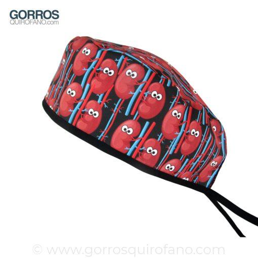 Gorros Quirofano riñones divertidos 864
