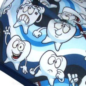 Gorros para dentistas divertidos azules - 865a