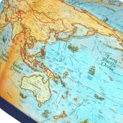 Gorros Quirofano I Love to Travel Hombre Mapa Mundi ampliación - 846